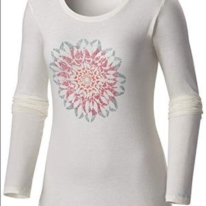 Columbia Flower Tulip Tee Chalk